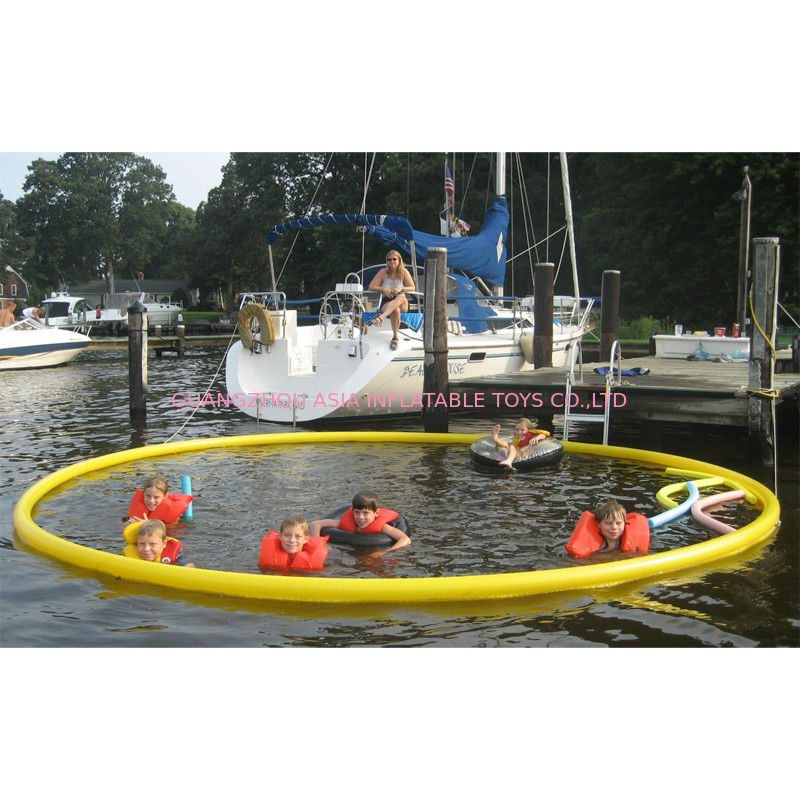 Customized Round Protective Inflatable Floating Boat Pool